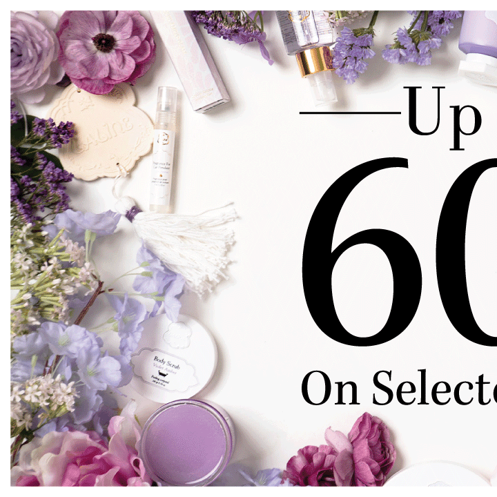 UP to 60 percent OFF