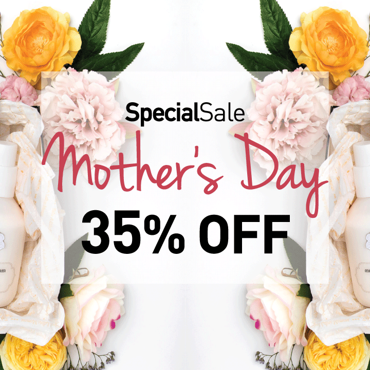 35% OFF MOTHERS DAY