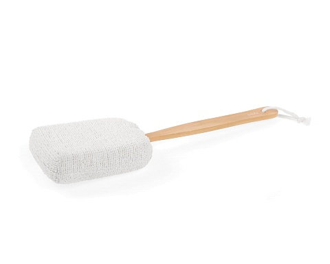 Bamboo Bath Brush With Handle