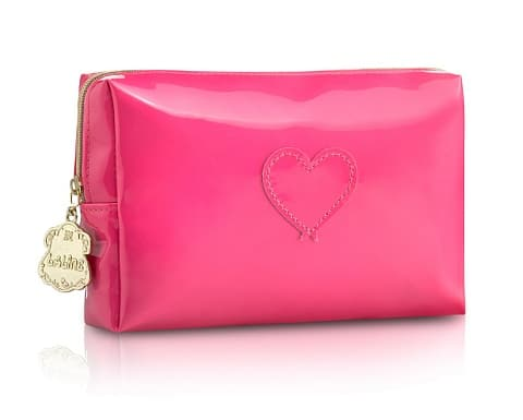 Pink Heart Shower Bag